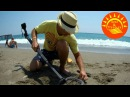 С металлоискателем в Турции. Пляжный коп.