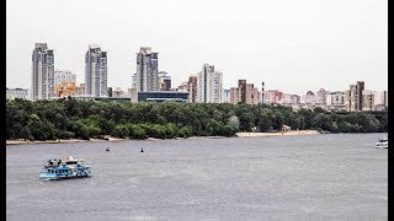 Киев «высушил» Днепр при попытке устроить водную блокаду Крыма
