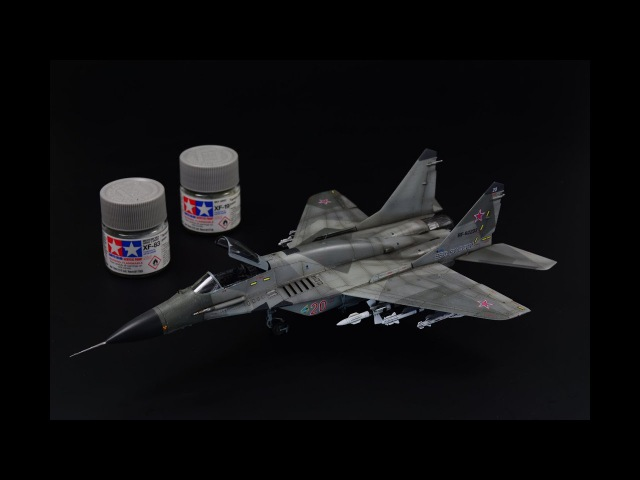 "MiG-29 SMT ""Fulcrum"" - 1/72 scale Trumpeter model kit - aircraft model"