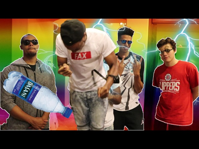 MOST EPIC UNBELIEVABLE SHOCK COLLAR WATER FLIP CHALLENGE! W/ LSK JesserTheLazer Los TTG