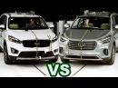 Краш тест Hyundai Grand Santa Fe vs Kia Sorento PRIME UM Crash Test