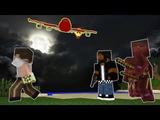 Minecraft сериал: Выжить после крушения самолёта 5 серия