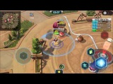 Clash Of Tribes  MOBA android game first look gameplay espa