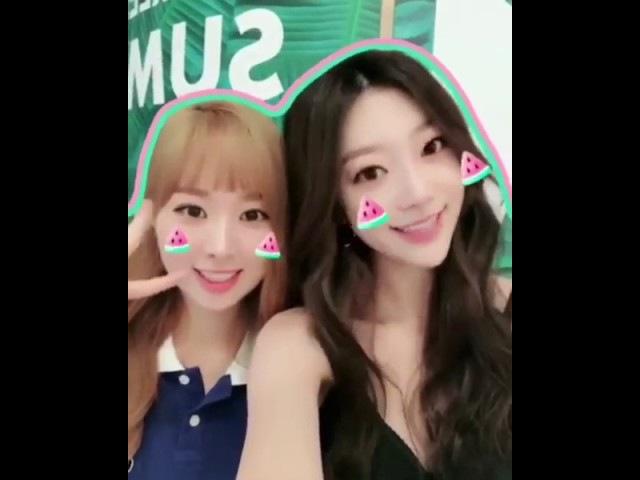 170811 Sumin Minjae - Instagram Video