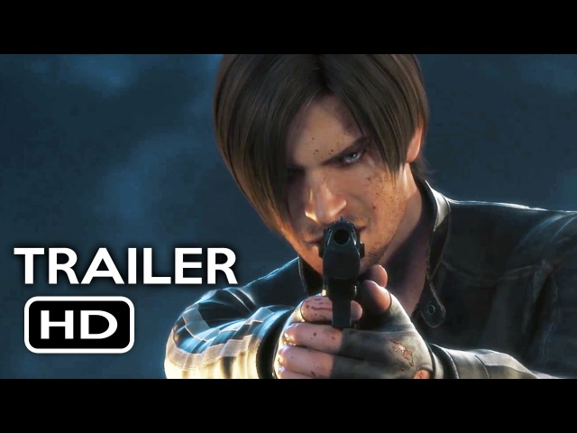 Resident Evil: Vendetta Official Trailer 1 (2017) Animated Movie HD