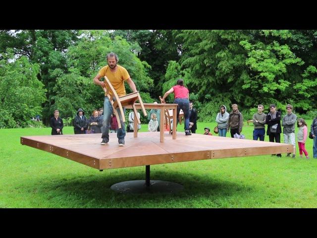Tentatives d'approches d'un point de suspension Cirque Théâtre d'Elbeuf