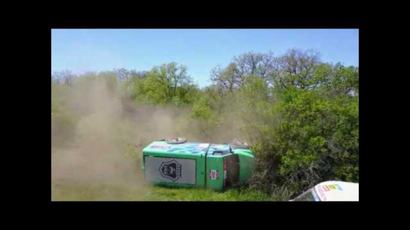 Переворот грузовика ГАЗон Некст 4х4 в Крыму / GAZon Next truck is crashing
