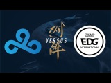 C9 vs. EDG Group Stage Day 3 2017 World Championship Cloud9 vs Edward Gaming