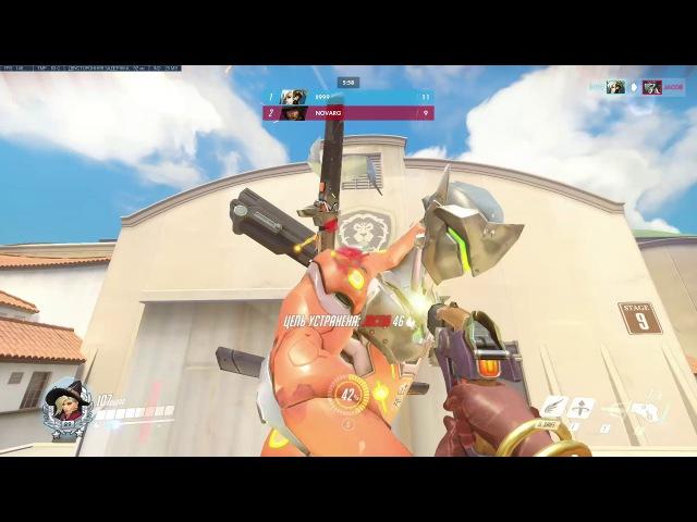 [Overwatch] Winning FFA Deathmatch as Mercy