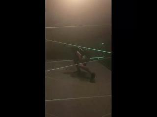Tony Ferguson Mission Impossible Laser Training
