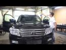Бронирование лобового стекла Toyota Land Cruiser 200