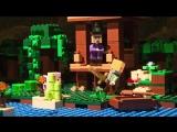 Лего Майнкрафт Мультики про набор LEGO Minecraft Хижина ведьмы