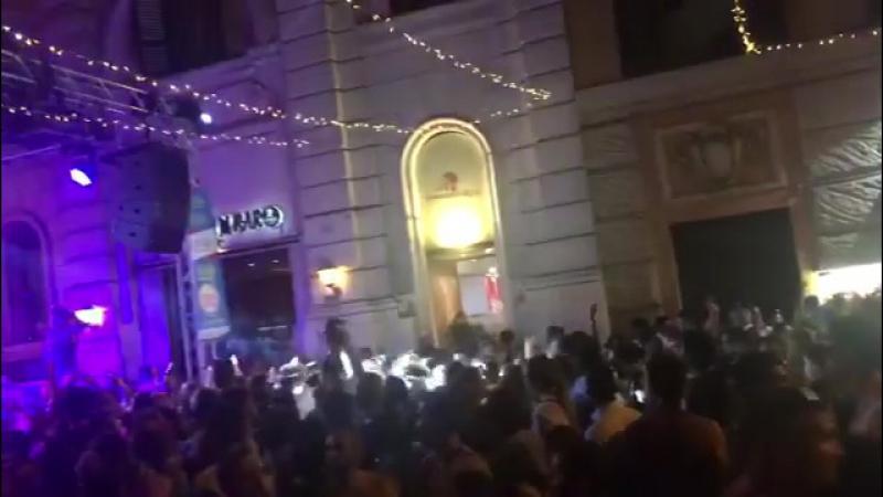 유럽여행 끝 마지막날 장식 게이페스티발 광란의밤 불토 안녕👋 로마 Рим 11 06 2017