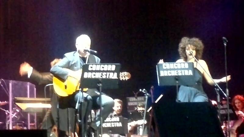 RiccardoFogli2017-03-25 Е'la mia vita в исполнении автора Maurizio Fabrizio и Katia Astarita