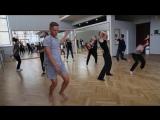 Минутка танца на отборе в Академию