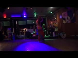 Nathalie Tedrick Solo, Open Belly Night 7 3879