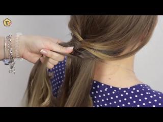 Плетение косы РЫБИЙ ХВОСТ ✔ РЫБЬЯ КОСА как плести