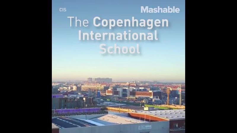 В Копенгагене здание школы облицевали солнечными коллекторами - это обеспечило половину требуемой энергии.
