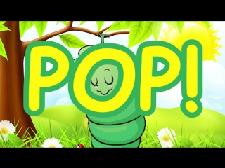 Spring Songs for Children - Hungry Caterpillar with Lyrics - Kids Songs by The L
