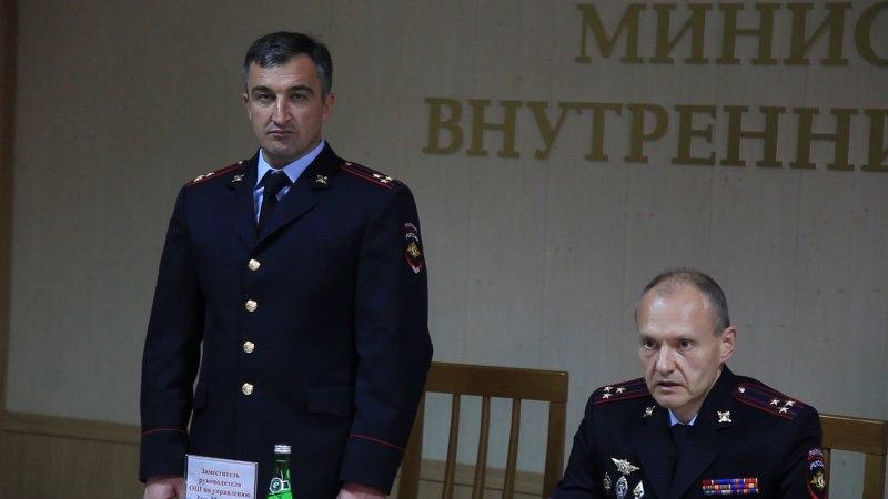 Личному составу МВД КЧР представили заместителя министра
