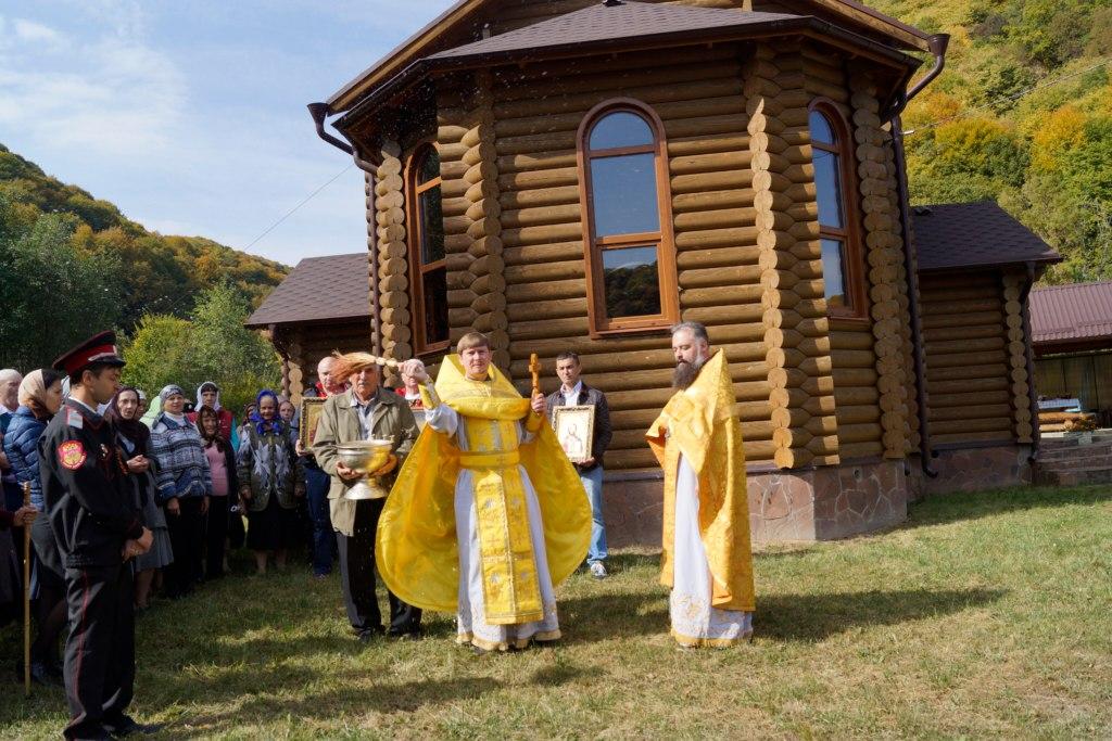 Престольный праздник отметили в Нижней Ермоловке