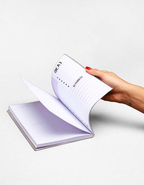 Записная книжка с отделкой блестками
