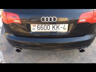 Audi A6 C6 3.0TDI CUSTOM EXHAUST