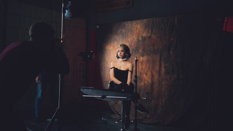 Видео с прошлого мастер-класса по съемке творчекого портрета в студии
