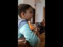 Юный участник Городского клуба авторской песни