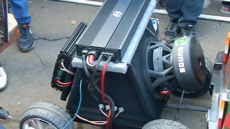 Самая громкая машина на SULIN MOTOR SHOW bass db spl sound low flex alphard чв гц audio