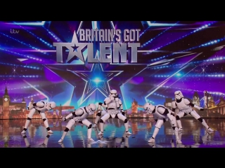 Britain's Got Talent 2016 S10E05 Boogie Storm Star Wars Inspired Cosplay Dance Crew Full Audition.mp4