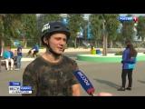 Прямое включение_ на фестивале молодежи в Сочи начались соревнования по BMX