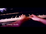 KAMAN Sia - Elastic heart  Cheap thrills (Piano cover)