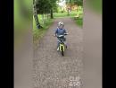 мой любимый мальчик 👦🏼😘🚴🏼 сынуля учитсякататьсянавелосипеде