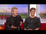 A-ha - Morten Harket and Magne Furuholmen Acoustic Hits interview (BBC Breakfast 05 October 2017)