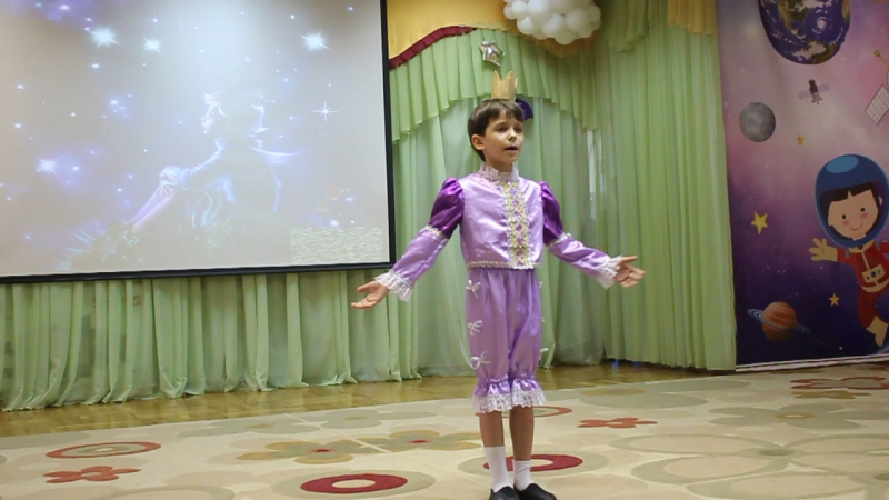 Даня Мединцев. Песня Маленький принц