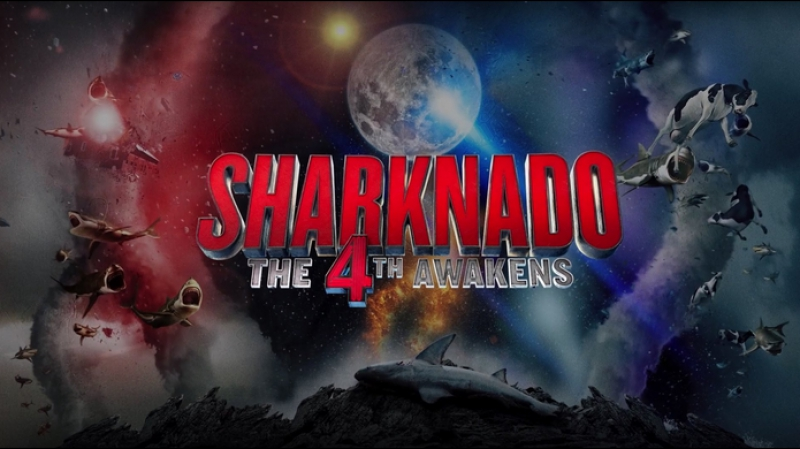 Акулий Торнадо 4 / Sharknado: The Fourth Awakens (2016)