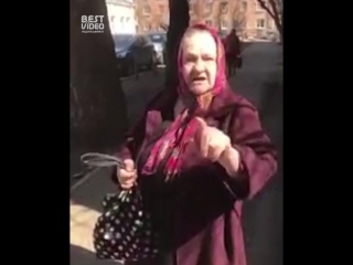 Иркутская бабушка о ситуации в городе и стране