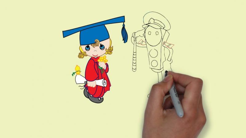 Эскиз рисованной видео-презентации