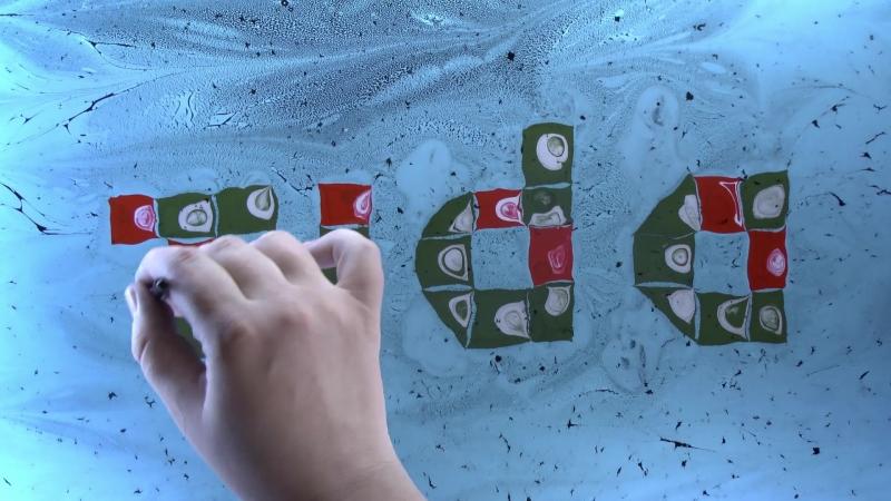 Tida Логотип - рисунок на воде. Художник Анастасия Хрипатова