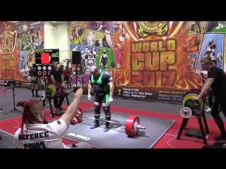Bouafia Mohamed становая тяга 330 кг
