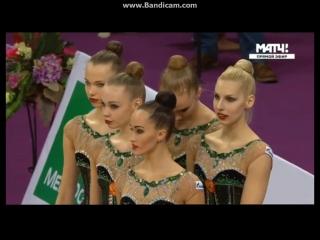 Церемония Награждения - финал с 5 обручами Гран-при Москва 2017