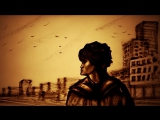 Песочный фильм - памяти Виктора Цоя Стук (2017, Ксения Симонова) - Sand tribute to Victor Tsoy