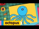 How to Draw an Octopus - Easy Drawing Lessons for Kids!