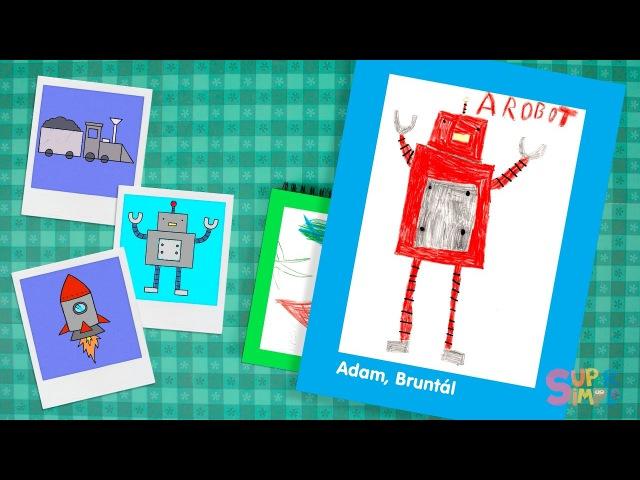 Super Simple Draw | Fan Art! | Robot, Rocket, Train!