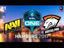 NaVi vs VP #1 (bo3) ESL One Hamburg 2017 23.09.2017