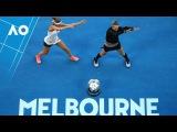 Bethany Mattek-Sands and Lucie Safarova victory dance | Australian Open 2017