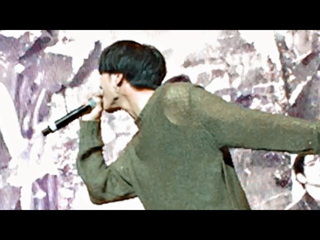 YUGYEOM CALLING HIS HYUNGS OUT - GOT7 IN SINGAPORE 161211