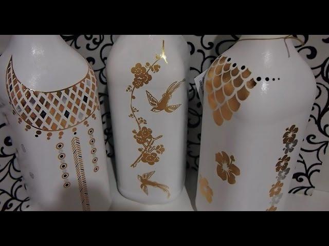 Pintura em garrafa EXCLUSIVA e INÉDITA Garrafa do Glamour