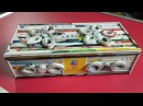 How To Make A Jewellery Gift Box/Cosmetic Organizer with Magazine newspaper Newspaper Crafts
